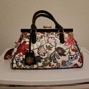 Rimen & Co Floral Sholder Bag